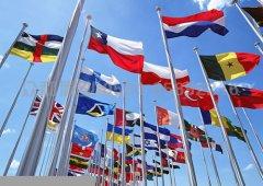 万国旗 旗帜制作 定做万国旗旗帜