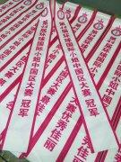 高档绶带制作 第44界环球国际小姐中国区大赛